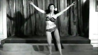 Sensitive Dance of one Adorable Minx (1950s Antique)