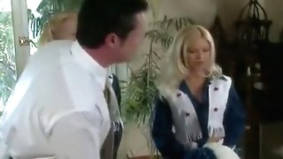 Cheerleaders Julie Meadows And Allysin Chaines Fuck The Dean (utter Scene)