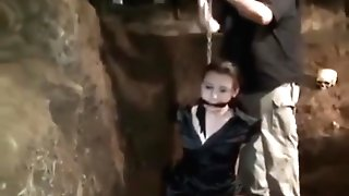 Woman Chained Up In The Basement