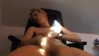 German Dame Chatted Into Getting Off Two Times Hard Orgasms