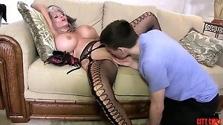 Hot Cougar Stepmom Fucks Her Youthful Sonnie - Sally D'angelo