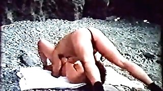 Rough Fucking on the Rocky Beach (1970s Antique)