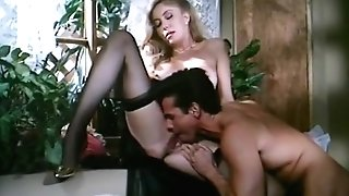 Moana Pozzi And Peter North Intercourse Scene - Naked Queen (1991)