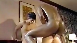 Red-haired Retro Double Penetration