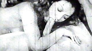 Hot antique cockblowing dame