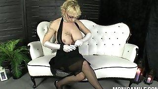 MonicaMilf in a old school 30's porno movie - Norsk porno