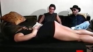 Tempting Lezzie Careena Collins Predominated By Older Male Domination